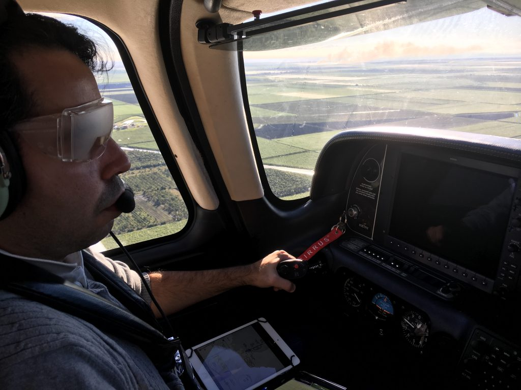 Nicolas Pera, Cirrus Pilot